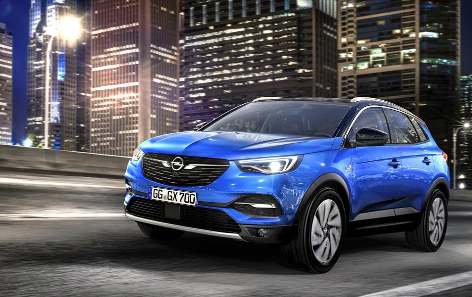 Opel ensancha su familia SUV con el Grandland X 2017