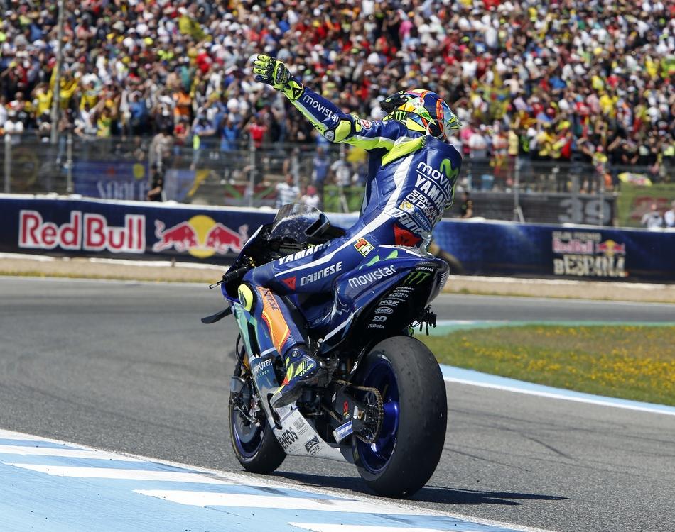 """Valentino Rossi: """"Es la primera carrera europea y me gusta mucho"""""""