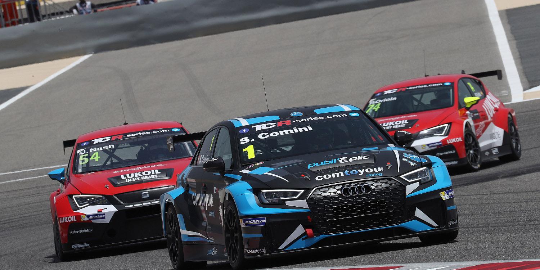 """Stefano Comini: """"El Audi RS3 LMS hoy estuvo perfecto"""""""