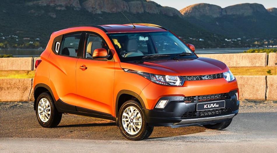Mahindra hace presencia con el KUV100