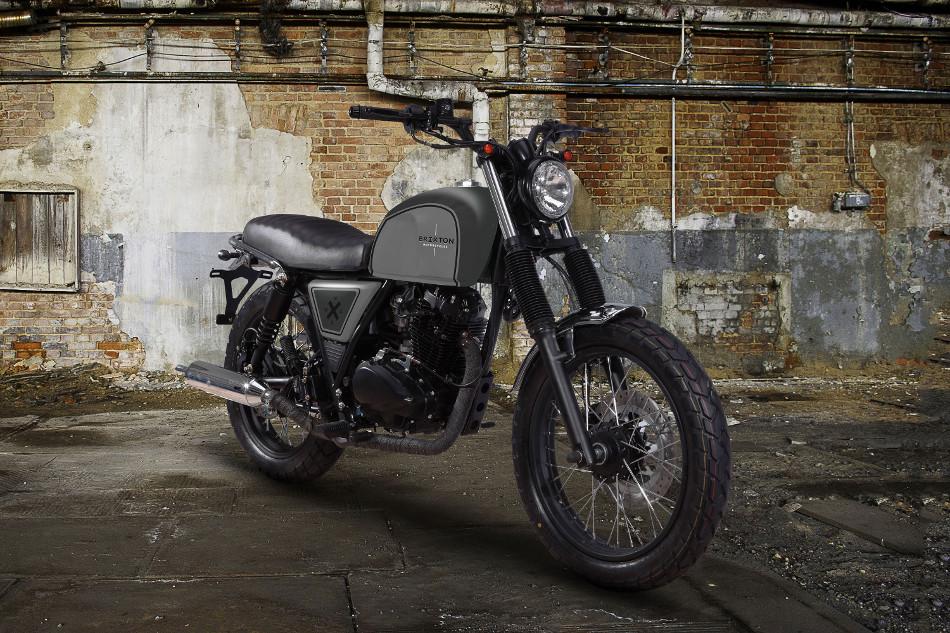 Brixton presenta la BX 125