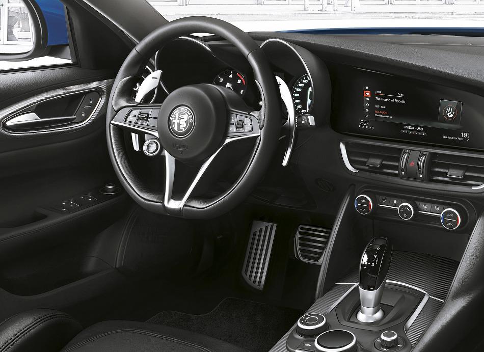 Alfa Romeo se presenta en Barcelona con el Giulia Veloce