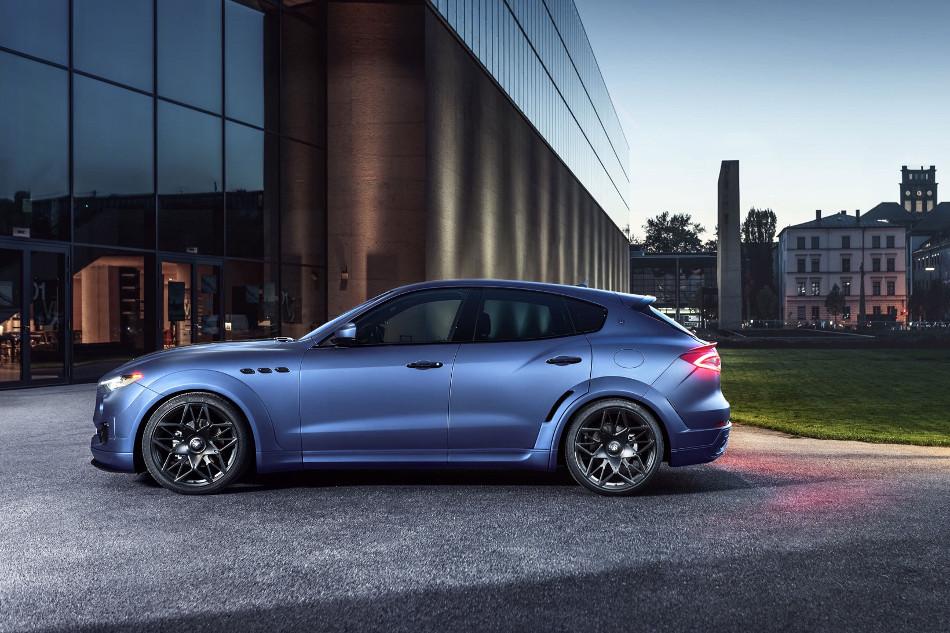 Maserati y el novedoso Levante Novitec