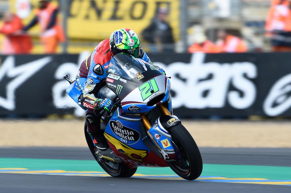 Baldassarri comanda a la armada italiana en Le Mans