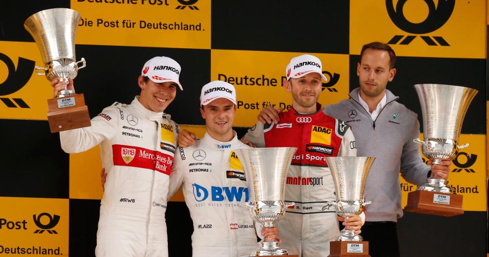 Lucas Auer repite victoria en Lausitzring