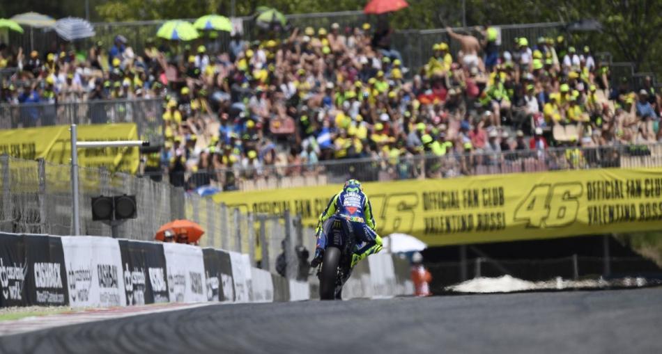 """Valentino Rossi: """"Será una carrera dura para todo el mundo"""""""