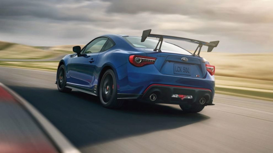 Subaru presentó sus modelos BRZ y WRX STI