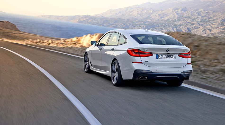 BMW prepara el Serie 6 versión Gran Turismo