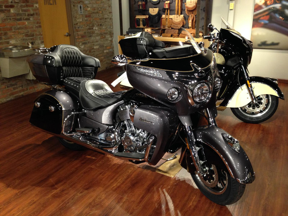 Impactante Indian Roadmaster 2017