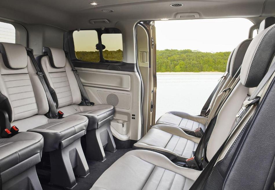 Ford renovó la Tourneo Custom