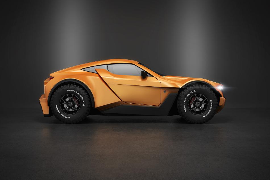 El poderoso Zarooq Sand Racer 500 GT