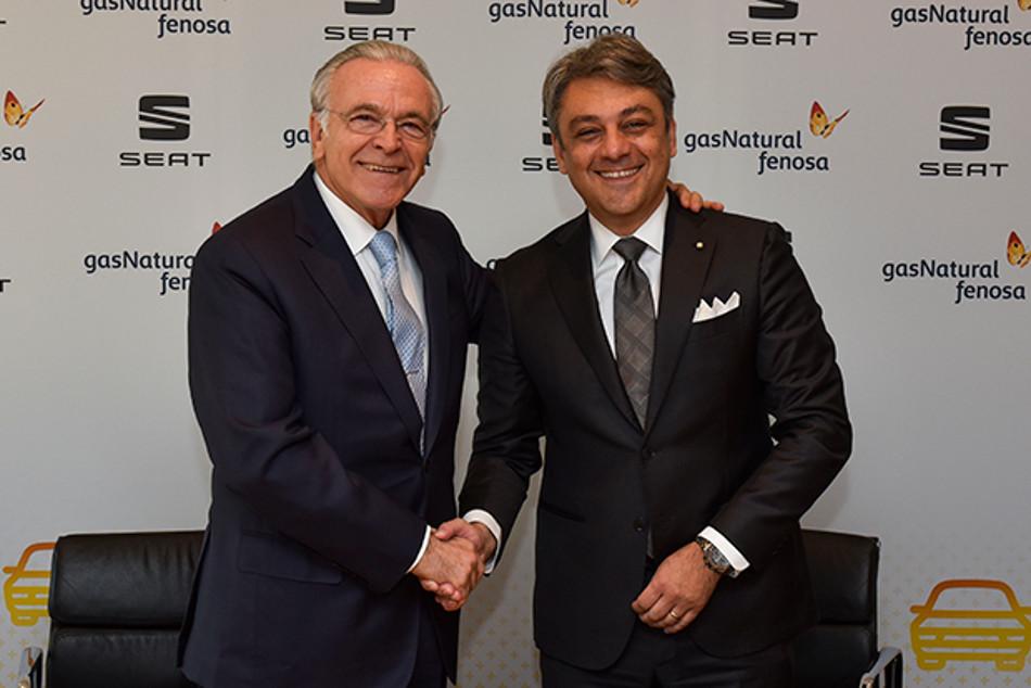 Alianza entre Seat y Gas Natural FENOSA