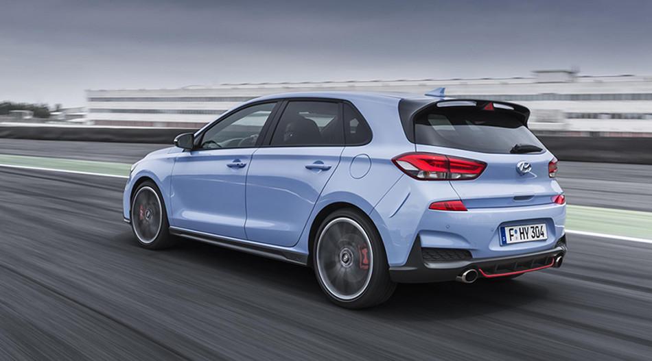 Hyundai presentó su deportivo i30 N