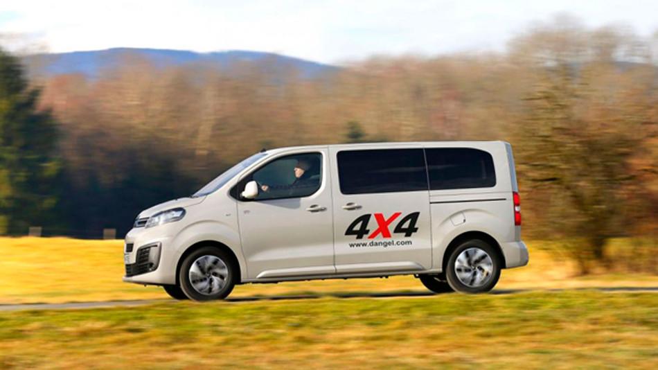 Disponible el nuevo Citroën SpaceTourer 4x4 Dangel