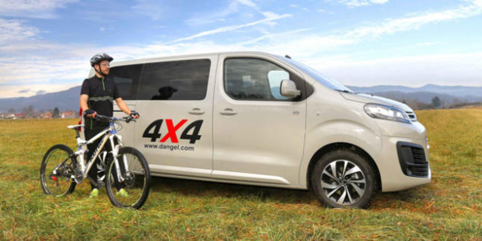 Disponible el nuevo Citroën SpaceTourer 4x4 Dangel