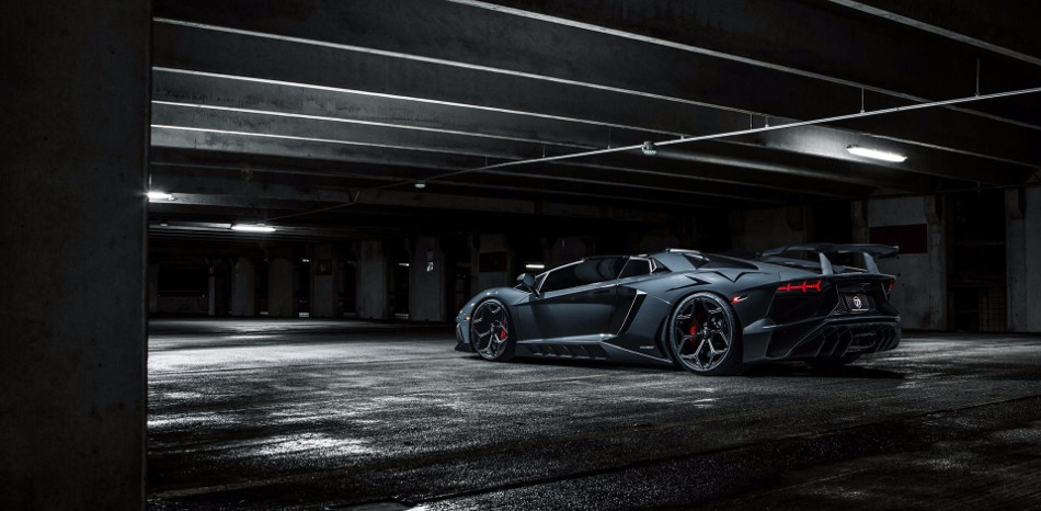 Se presenta el Lamborghini Aventador SV Roadster de Novitec