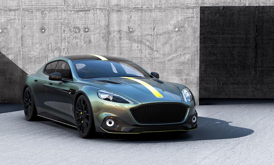 Aston Martin confirmó la fabricación del RapidE