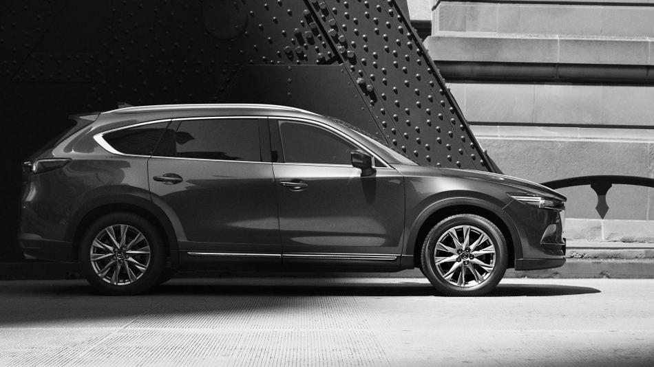 Mazda CX-8 2018 nuevo SUV japonés