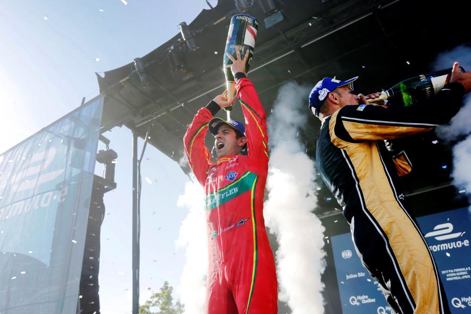 Lucas di Grassi triunfó en Montreal y Sébastien Buemi fue descalificado