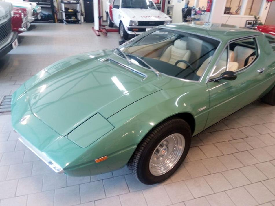 Maserati Merak que fuera de Al-Fayed a subasta