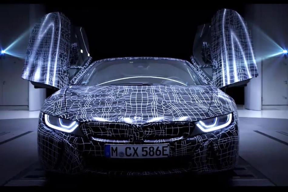 BMW presentará el deportivo i8 Roadster