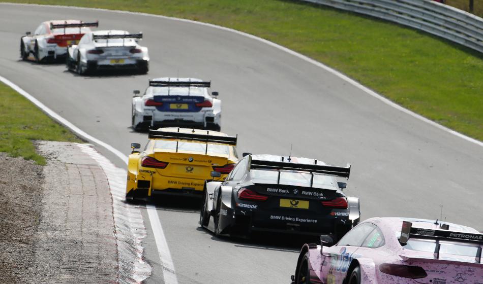 Cuatro pilotos de BMW en los puntos en la carrera del domingo del DTM