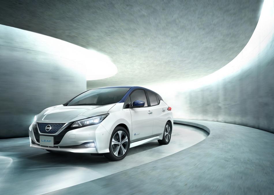 El Nissan Leaf 2018 en su segunda generación