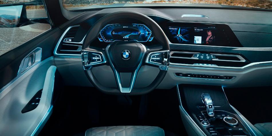 BMW X7 Concept en imágenes filtradas