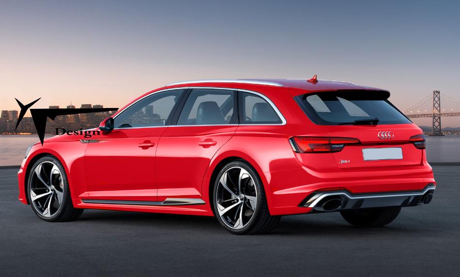El nuevo Audi RS4 Avant será presentado en Frankfurt