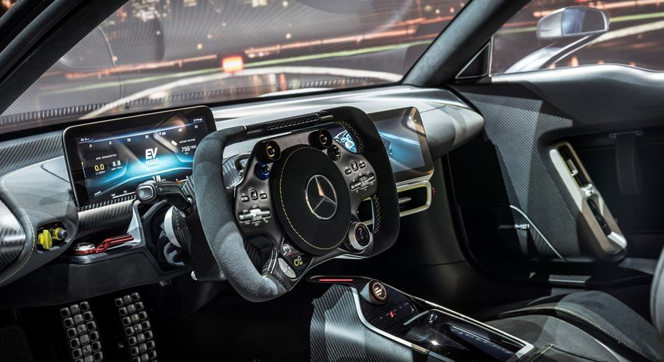 Mercedes-AMG presenta su primer hiper deportivo llamado Project One