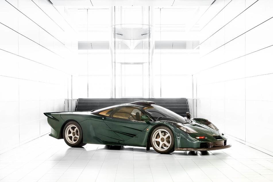 Desvelado el nuevo McLaren 570GT XP Green