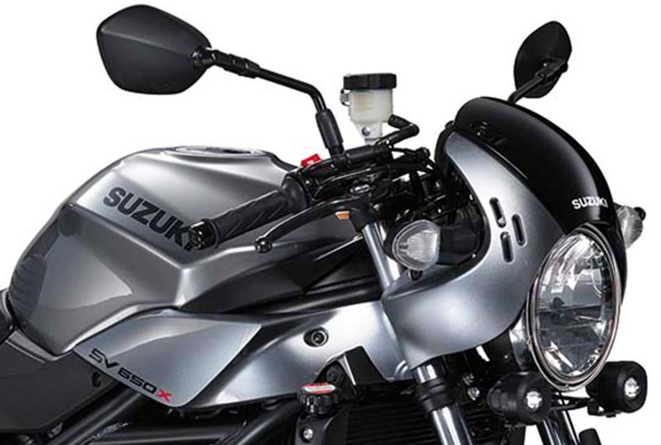 Descubre la nueva Suzuki SV650X 2018