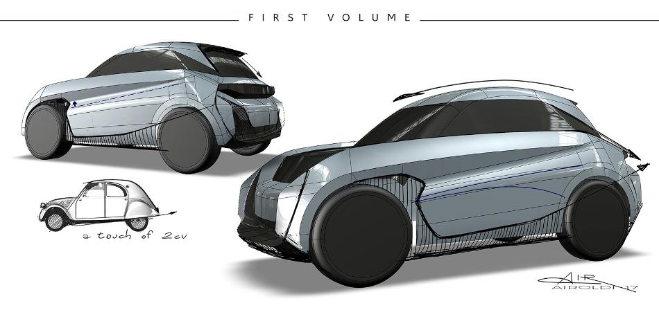 Citroën C-Electrique, el 2CV del siglo XXI