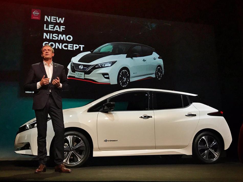 Nissan presentará en Tokio su nuevo Leaf Nismo Concept