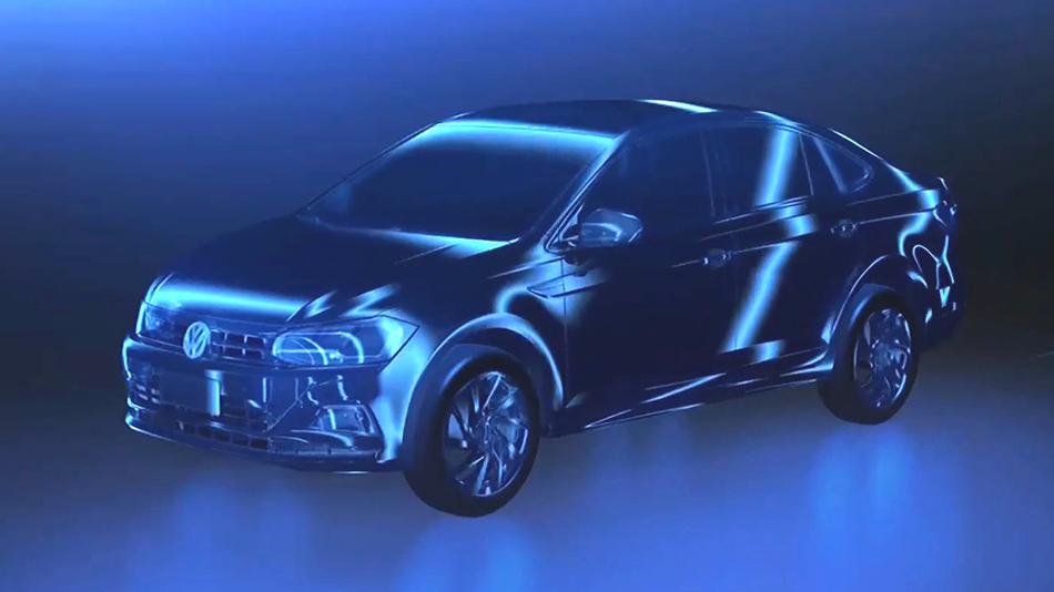 El Volkswagen Virtus 2018 ya está en camino