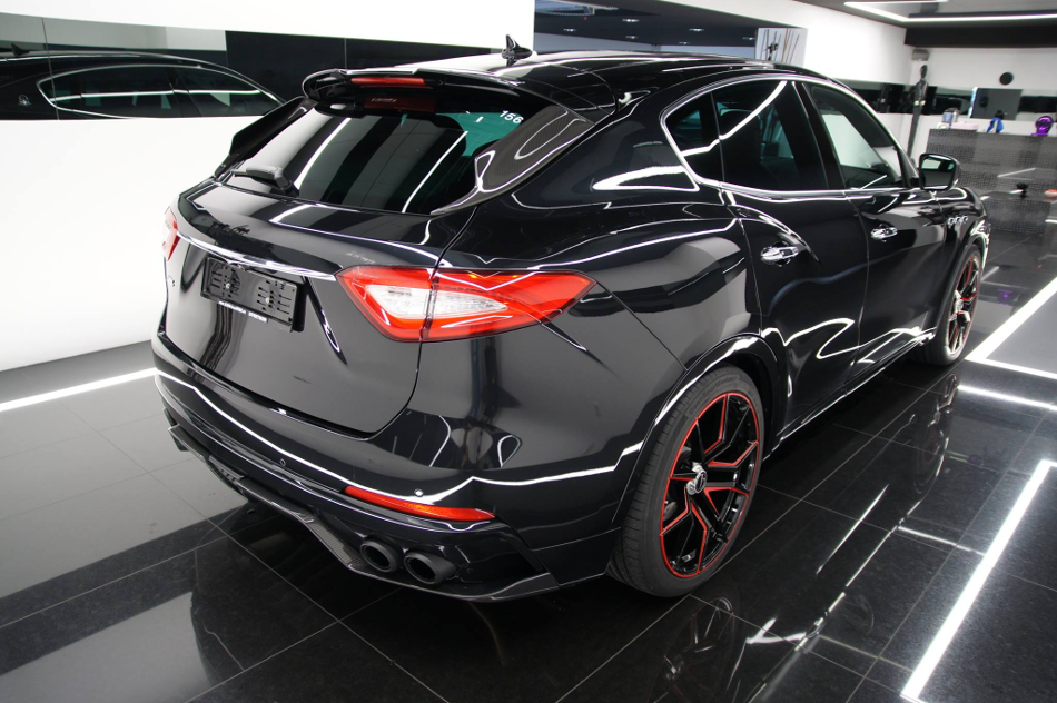 El Maserati Levante de Startech