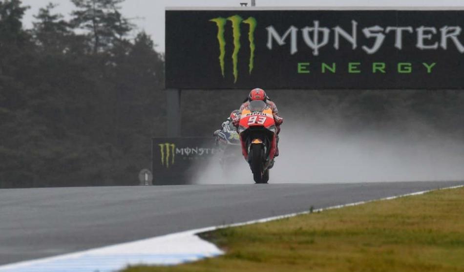 Primer mano a mano en Moto GP