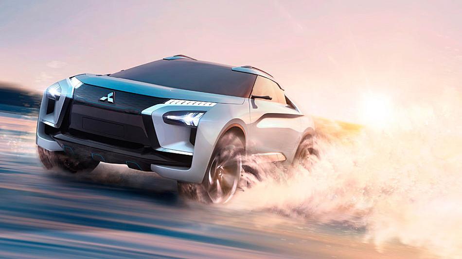 Mitsubishi hace gala del E- Evolution Concept