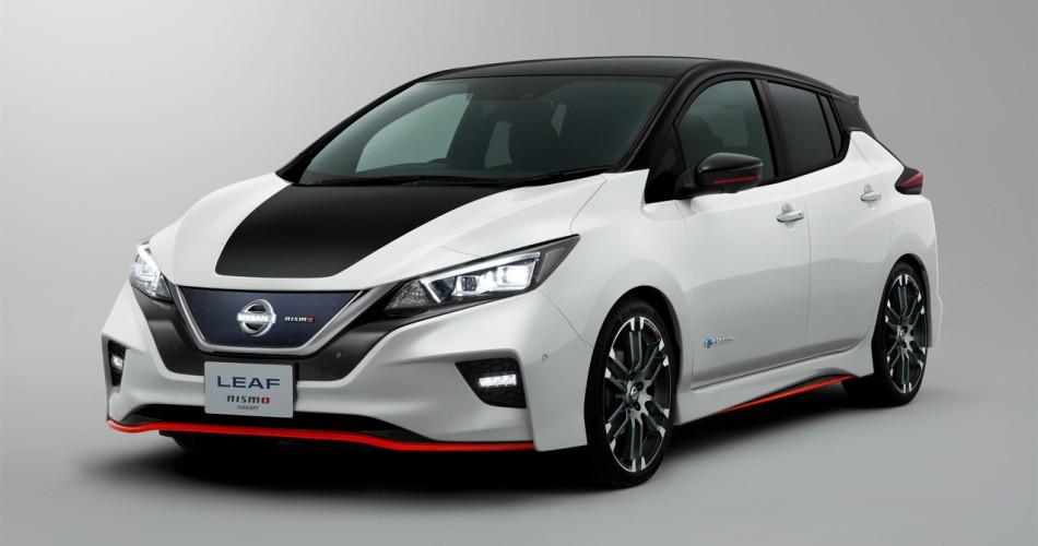 Nissan muestra el prototipo LEAF NISMO en Tokio