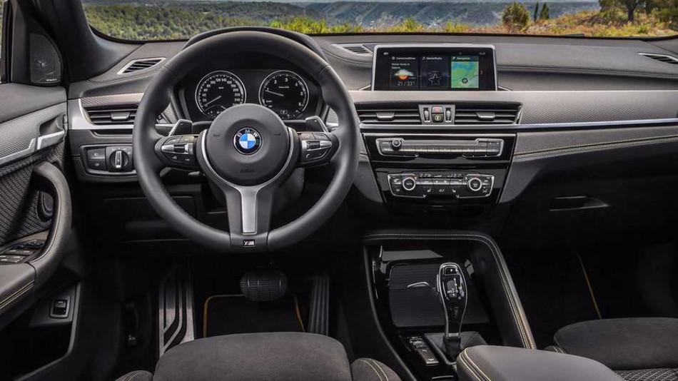BMW mostró a fondo el X2 2018