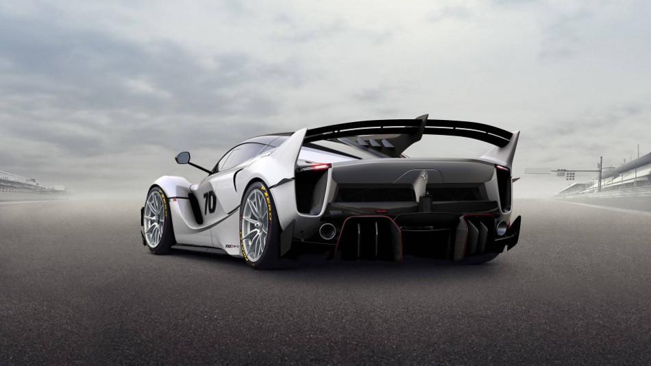 Ferrari mostró el revolucionario FXX-K Evo 2018