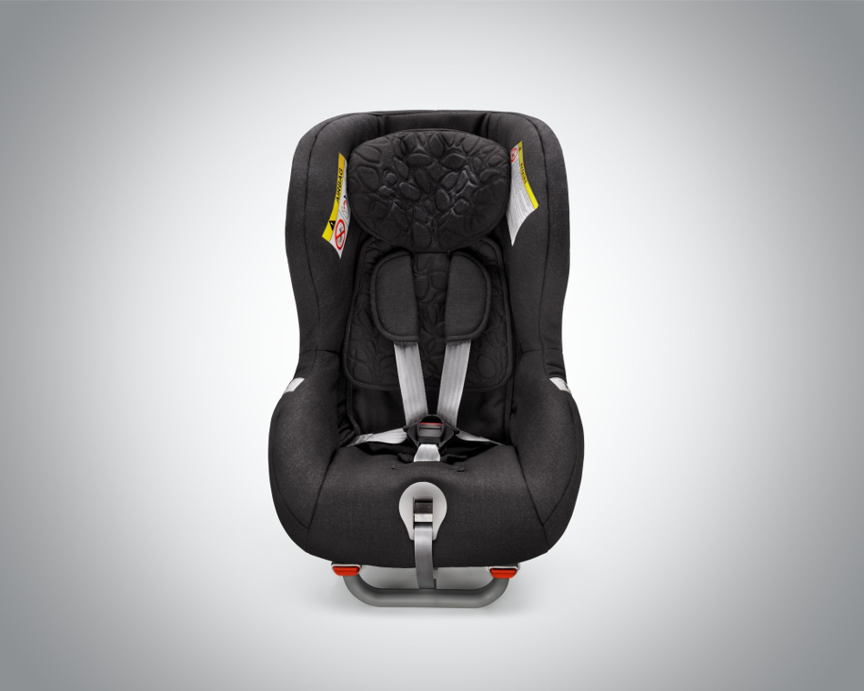 Evolución de las sillas de niños para coches
