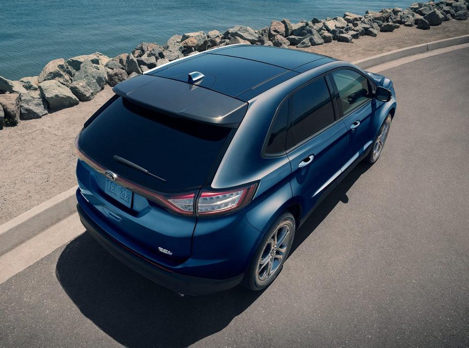 Ford presentó la Edge 2018