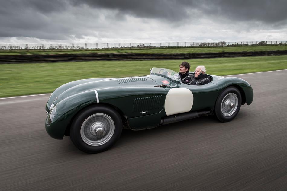 El famoso Jaguar C-Type busca un nuevo hogar en la subasta de RM Sotheby's