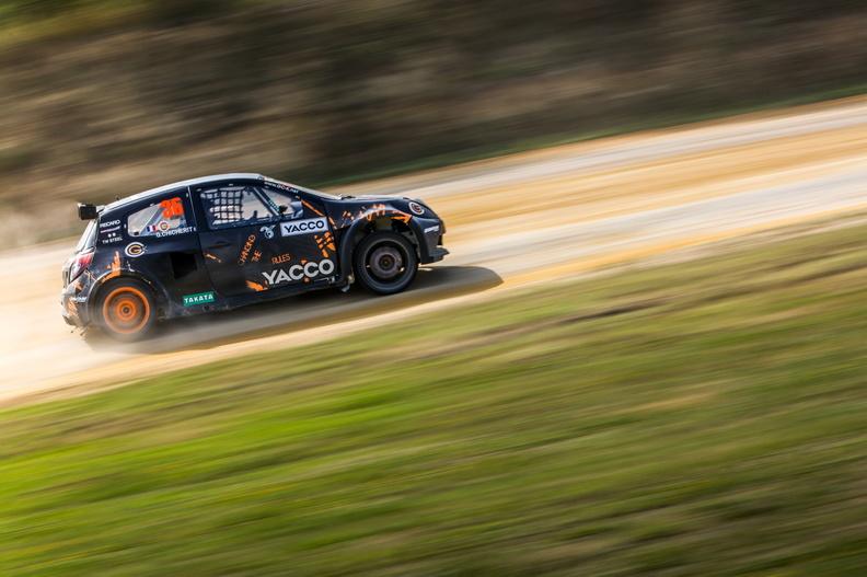 Guerlain Chicherit crea un equipo para el Europeo de Rallycross