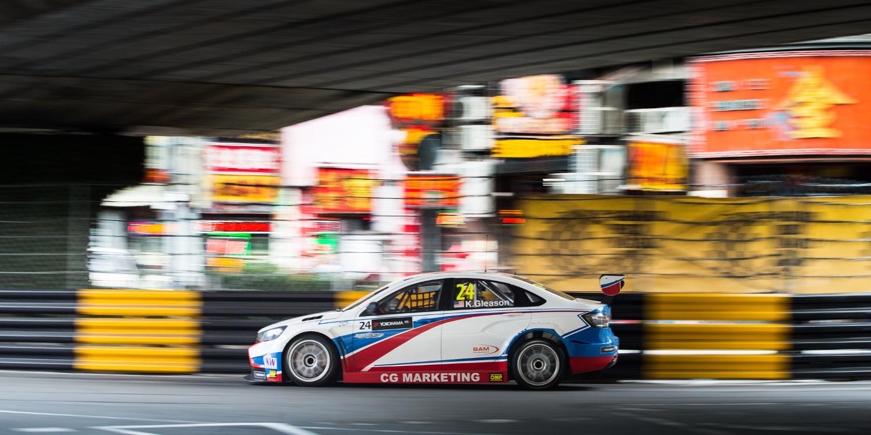 Robert Huff se hace con la pole en Macao
