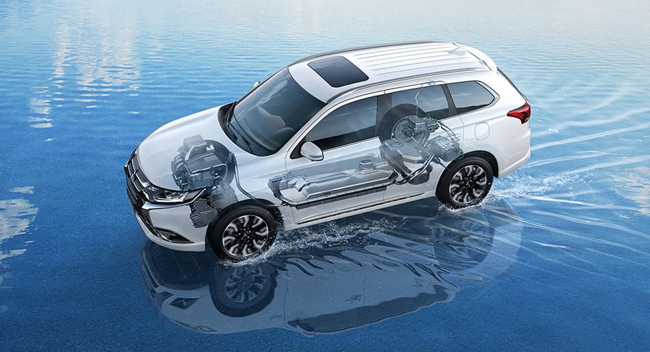Outlander PHEV 2018 el SUV Hibrido de Mitsubishi