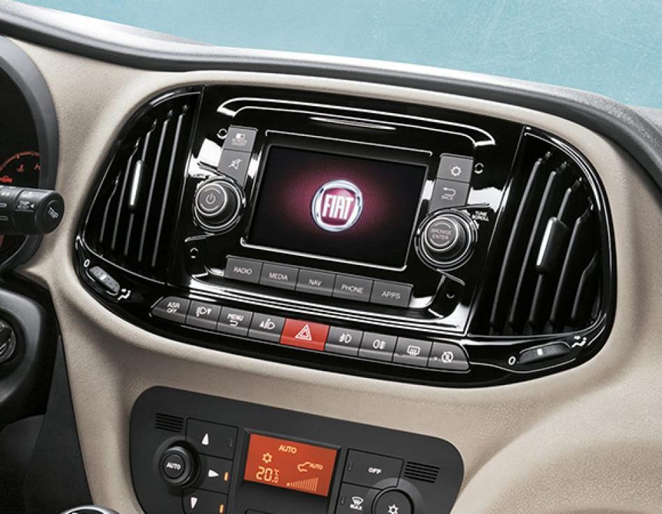 Nuevo Fiat Doblo 2018, con mejoras exteriores e internas.