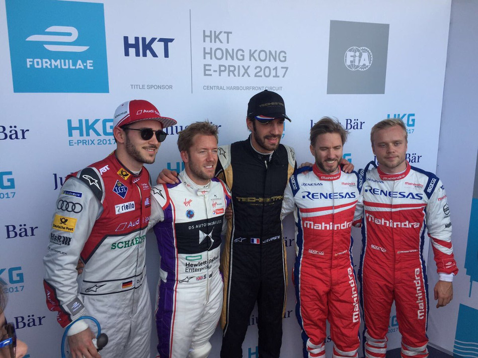 Fórmula E: Calificación al eprix de China, carrera 1