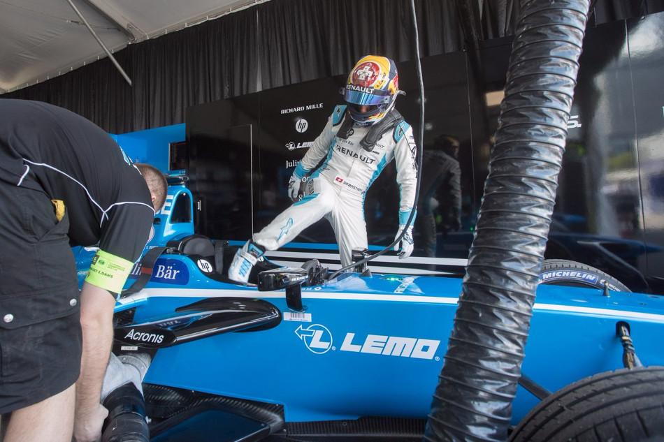 Fórmula E: Calificación a la carrera número 2 de Hong Kong